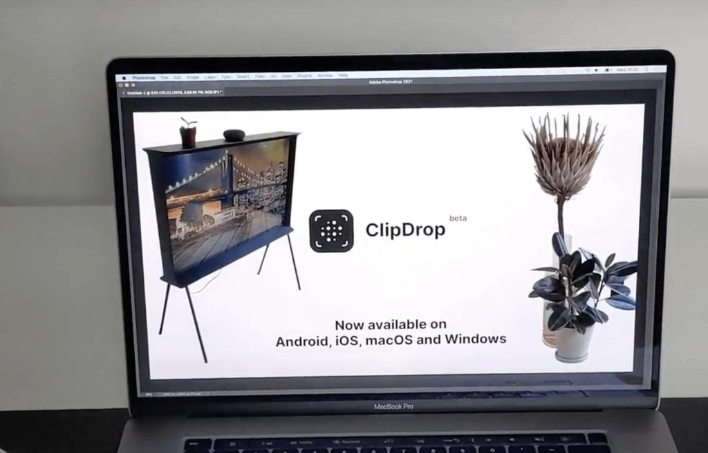 clipdrop paste image
