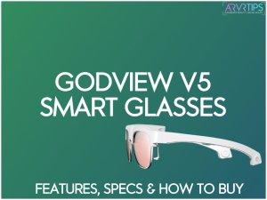 GodView V5 Review: Unique and Sleek AR Smart Glasses