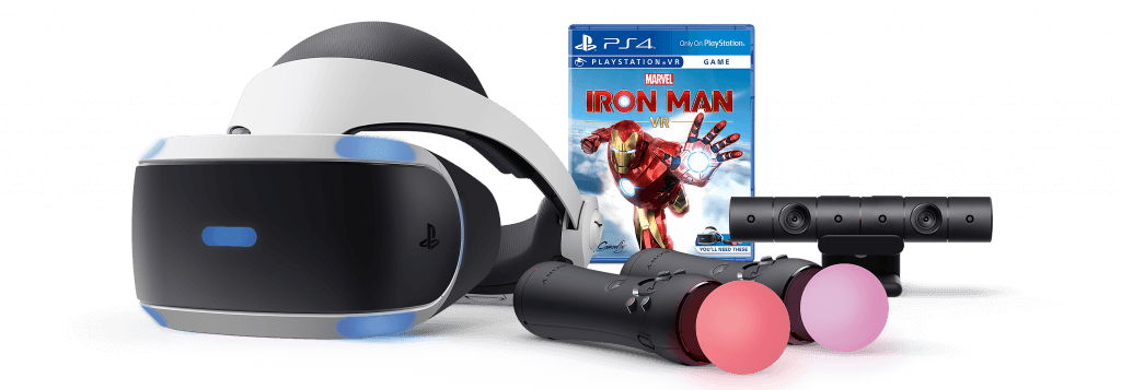 playstation vr console vr headset