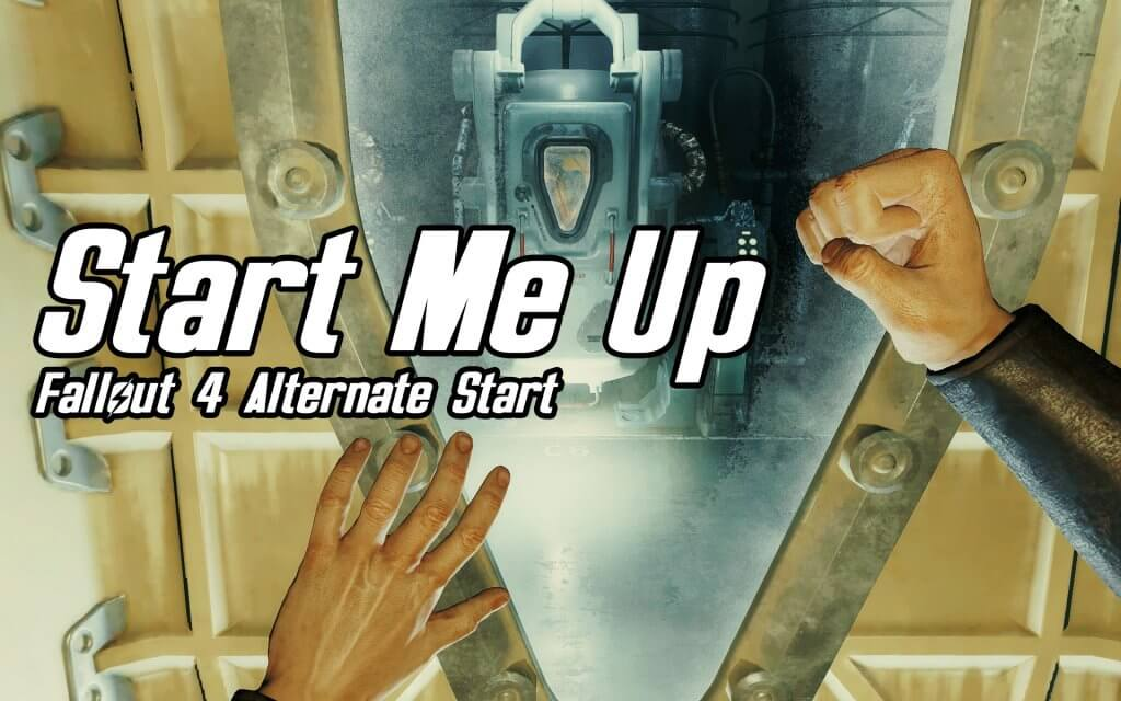 start me up fallour 4 vr mod