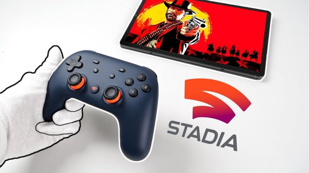 google stadia on the oculus quest