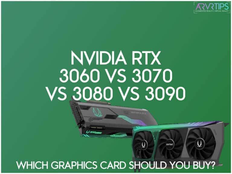 nvidia rtx 3060 vs 3070 vs 3080 vs 3090