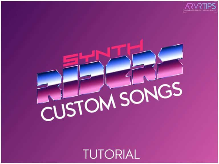 synth riders custom songs