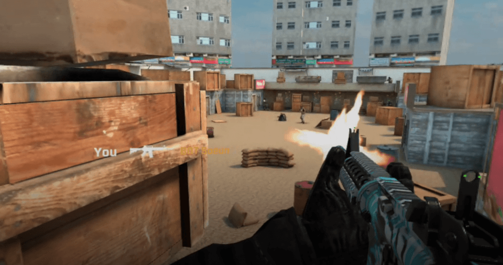 Aim XR FPS Launches 5v5 Multiplayer for Oculus Quest