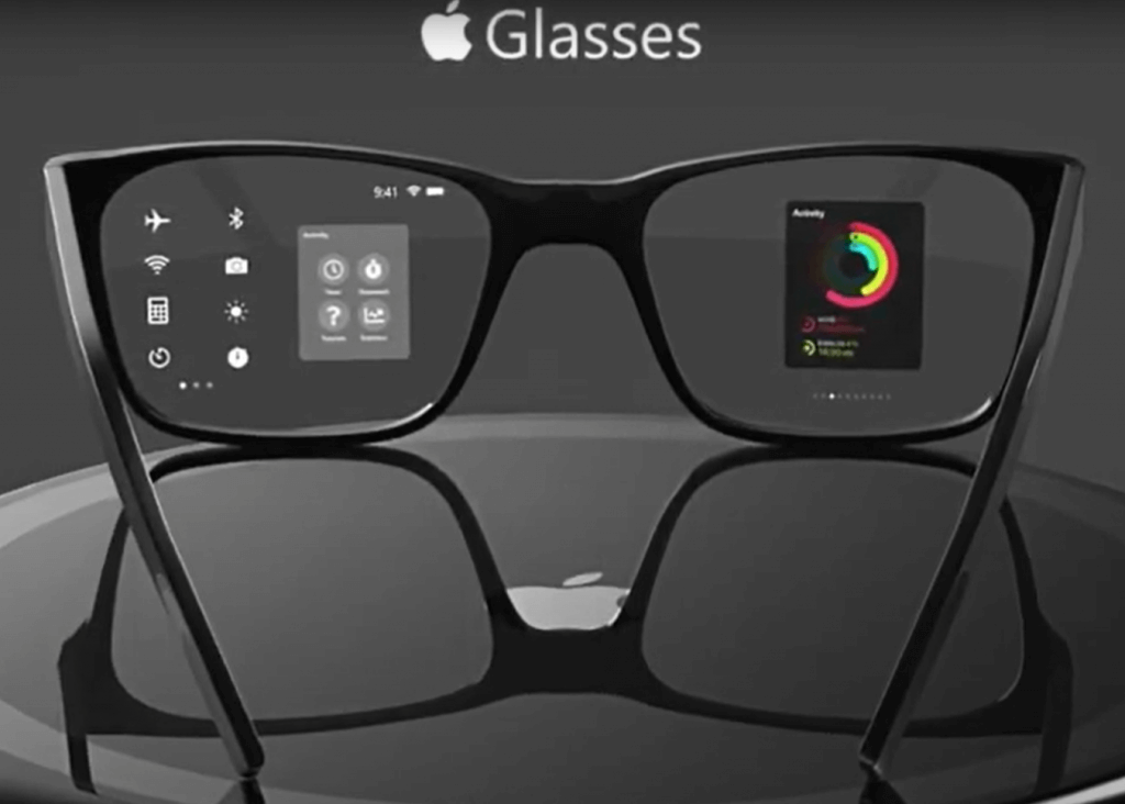 Apple AR glasses concept design