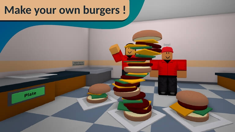 cook burgers best roblox vr game