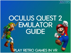 oculus quest 2 vr emulator game play retro games