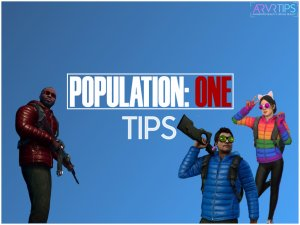population: one tips