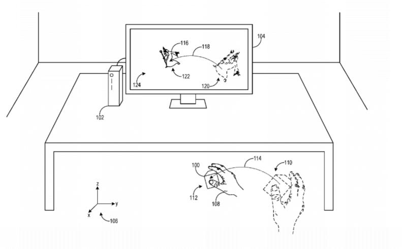 xbox vr controller 6dof patent