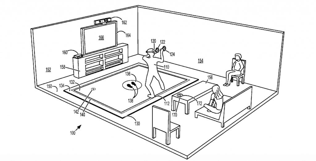 xbox vr mat patent