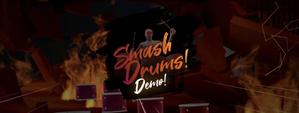 smash drums oculus app lab game