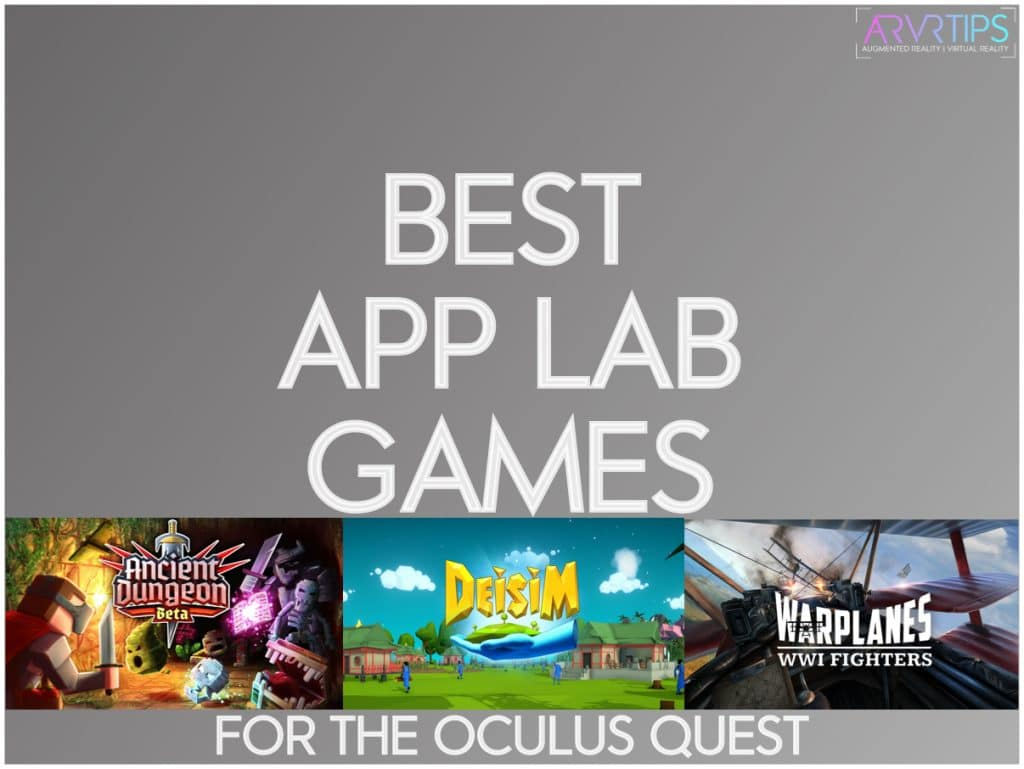 best app lab games to play