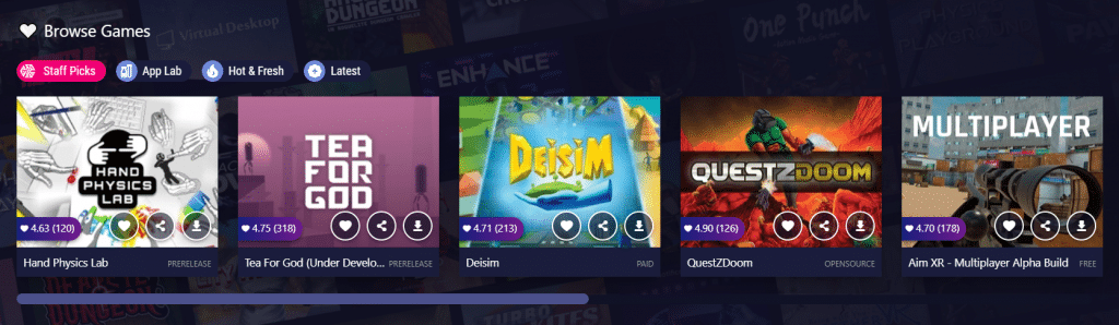 new sidquest design browser games