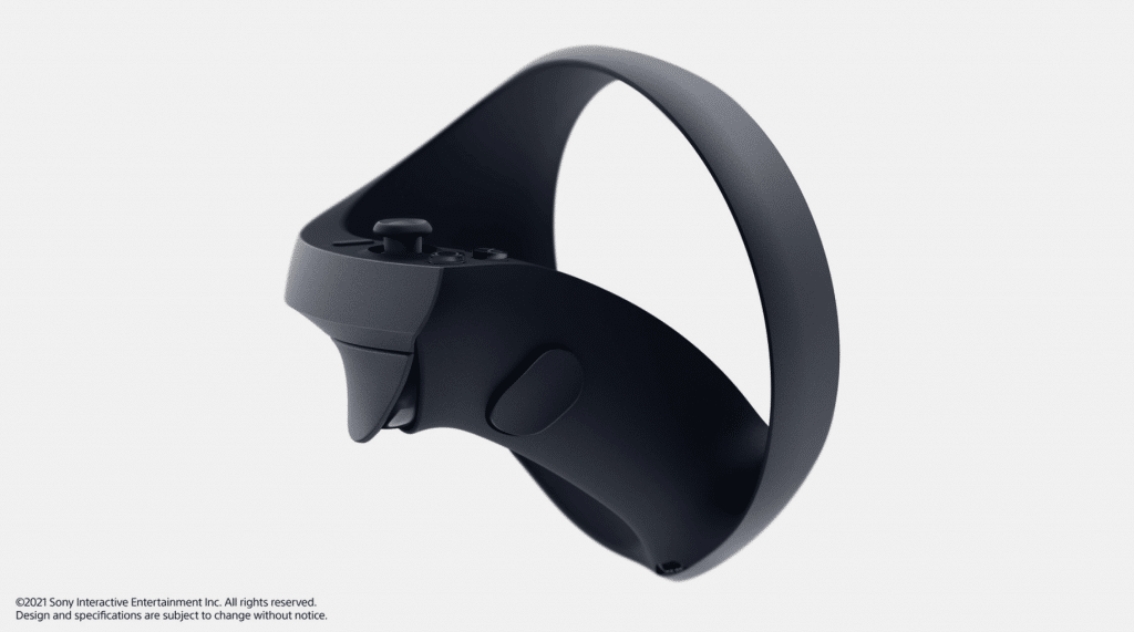 ps5 vr controller side view