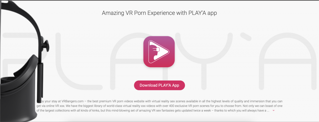 vr bangers review play'a app