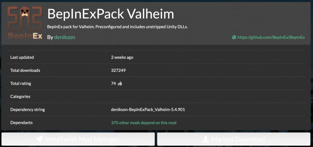 01 - bepinexpack valheim