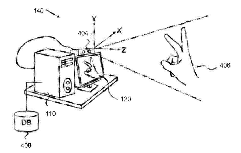 apple vr hand gesture patent