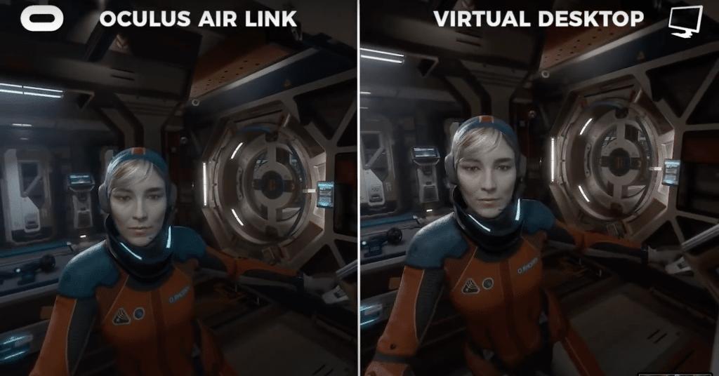 oculus air link vs virtual desktop picture comparison 1