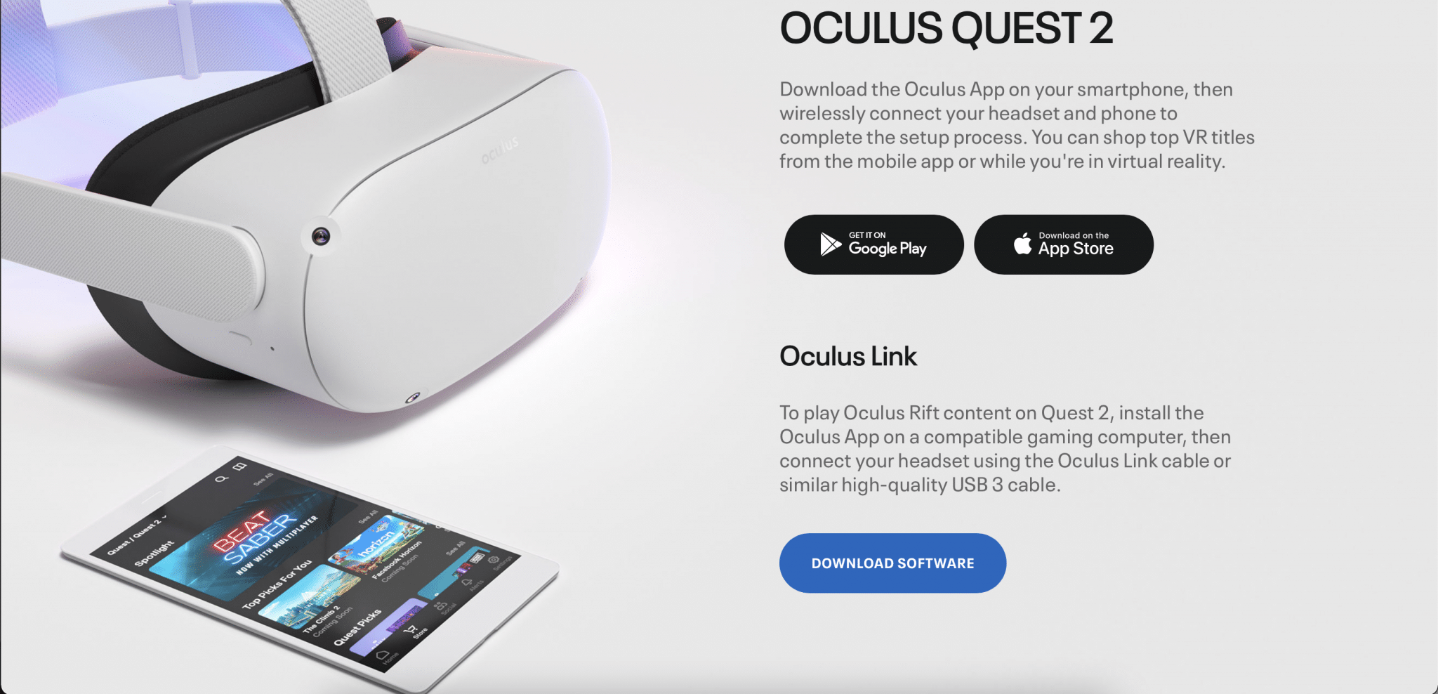 oculus pc software download