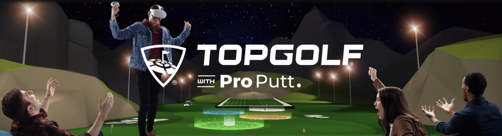 topgolf with pro putt vr sports game