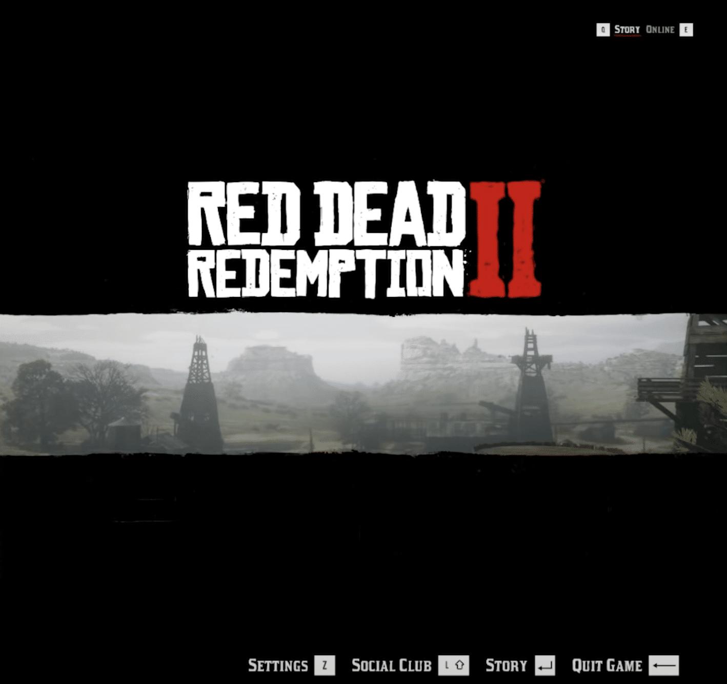 7 - red dead redemption vr mod - splash screen