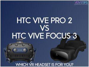 htc vive pro 2 vs focus 3