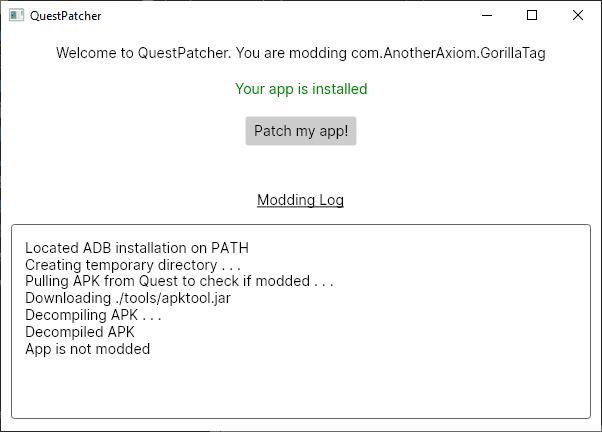 gorilla tag custom maps on oculus quest install