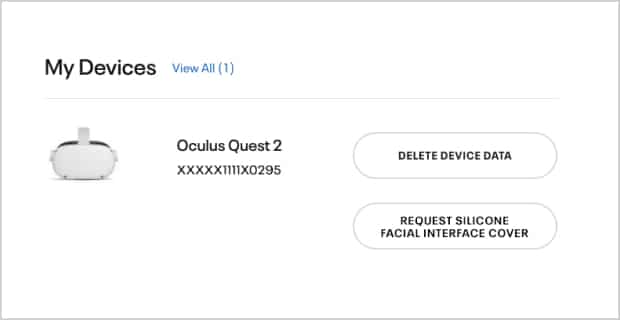 2 - how to request an oculus quest 2 silicon cover