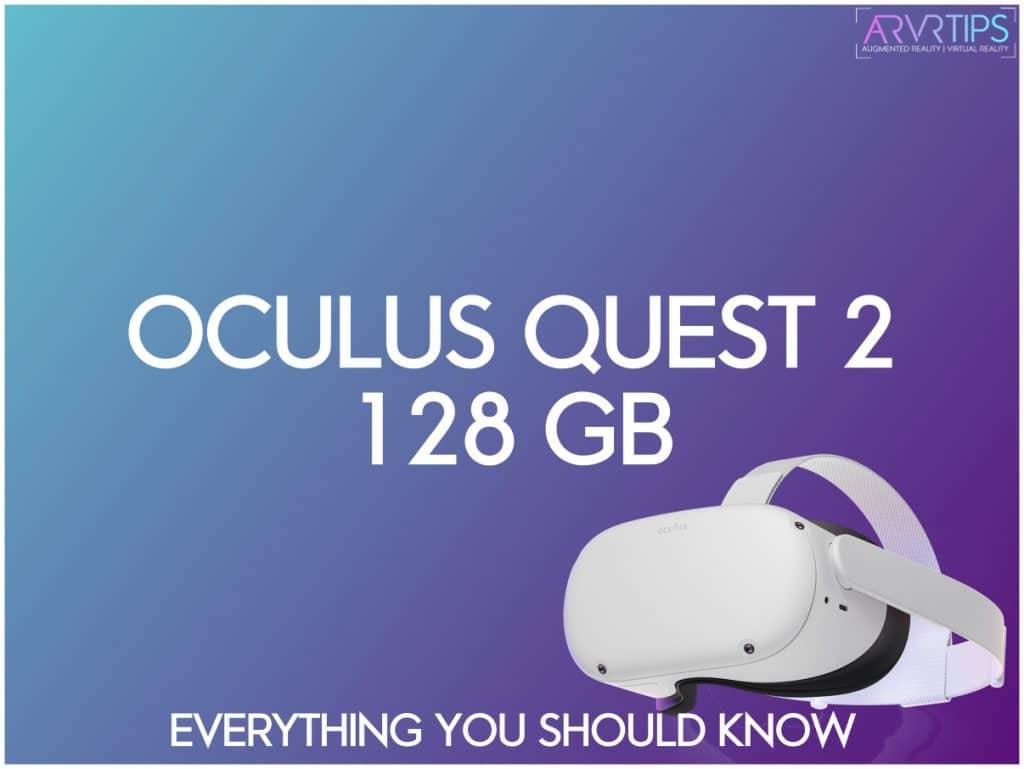 oculus quest 2 128 gb version