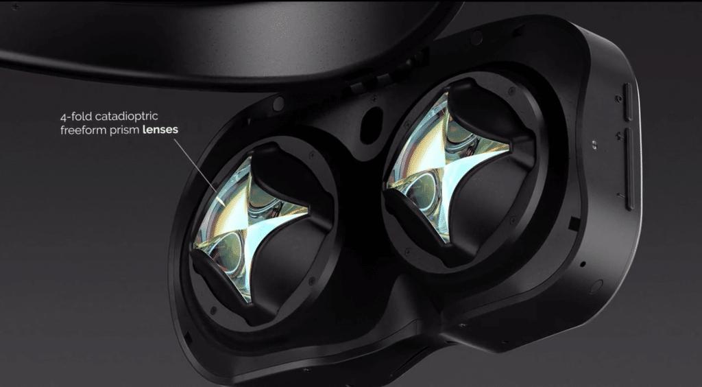 lynx r1 mixed reality headset display